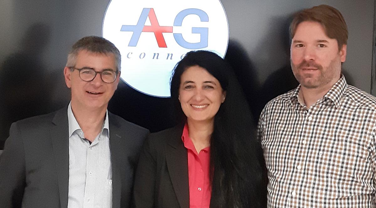 A+G connect GmbH Geschäftsleitungsteam